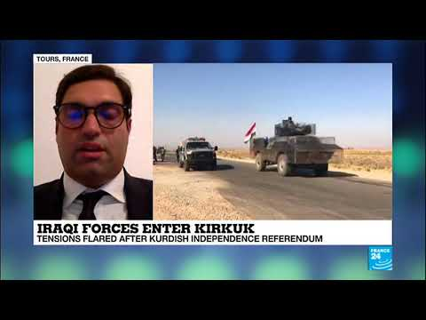 Battle Of Kirkuk; 'A Significant Escalation Of Tensions Between Iraqi Army And Kurdish Fighters'