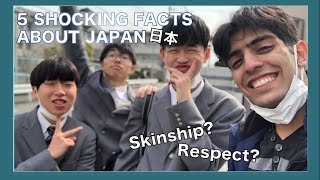 5 SHOCKING FACTS ABOUT JAPAN | Life As An Exchange Student In Japan