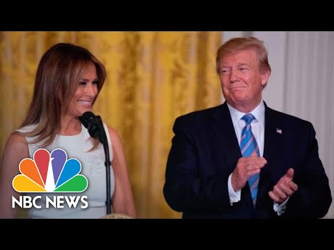 President Donald Trump And First Lady Honor Military Mothers Ahead Of Mother's Day | NBC News