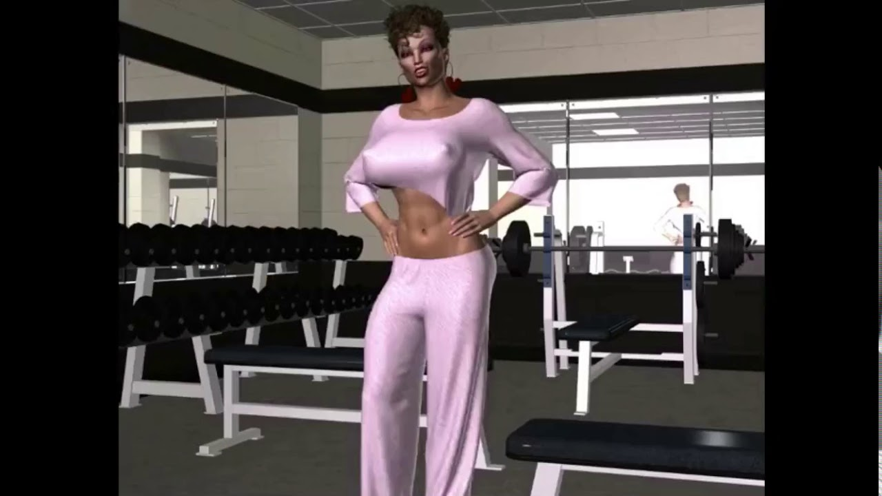 Female muscle growth - YouTube