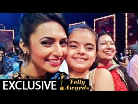Yeh Hai Mohabbatein's Ishita, Ruhi & Raman @ 13th Indian Telly Awards 2014 – EXCLUSIVE