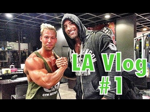 ProBro Vlog - Venice Beach, Gold Gym, Santa Monica
