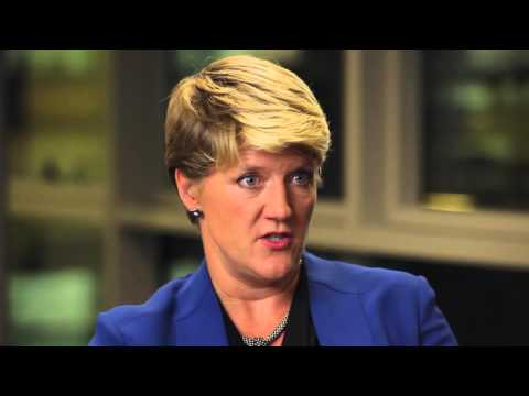 Clare Balding and Professor Tanya Byron in conversation