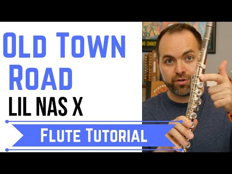 Old Town Road | Flute Tutorial