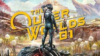 The Outer Worlds (PL) #1 - Premiera (Gameplay PL / Zagrajmy w)