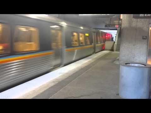 MARTA Train Approaching Lindbergh Center