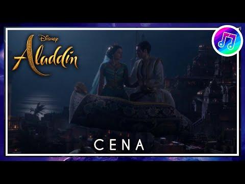 """cena-dublada:-""""um-mundo-ideal""""---aladdin-(2019)"""