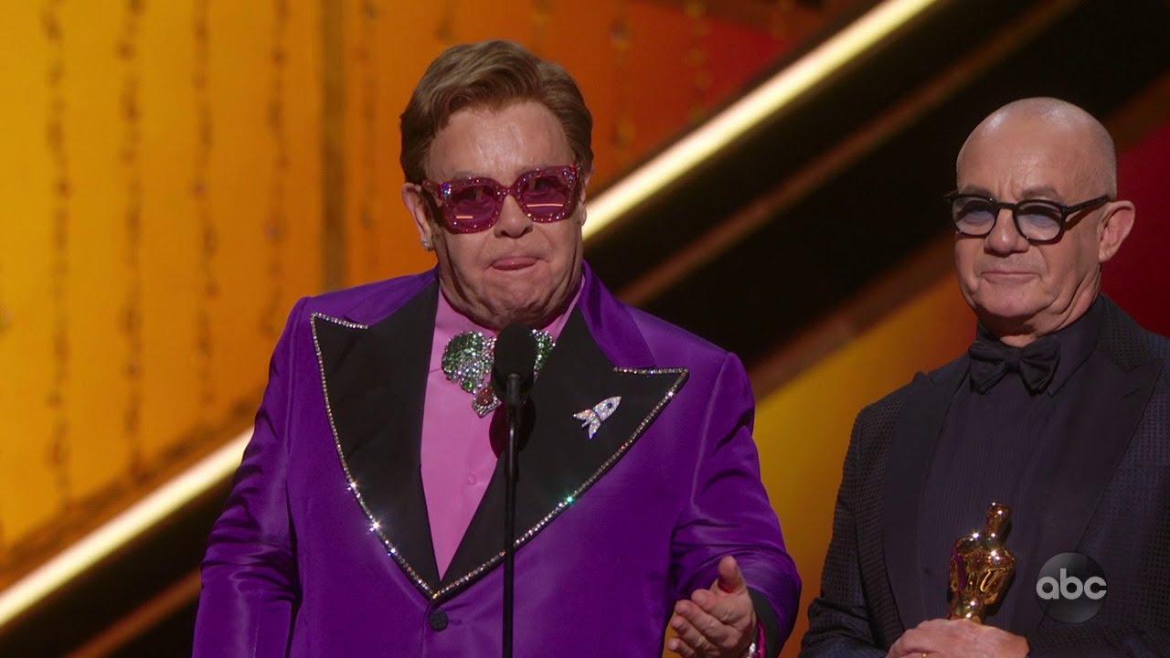 Elton John and Bernie Taupin win original song Oscar
