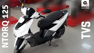 TVS NTORQ 125 Matte White | detailed review | features | specifications | price !!!