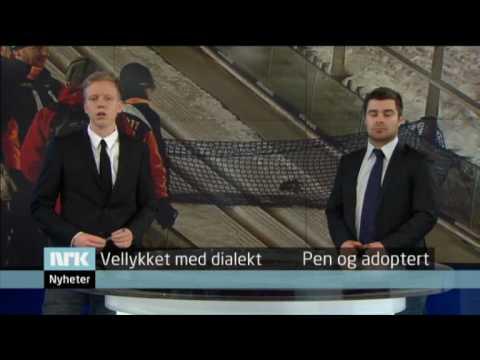 Selvironisk kurs i tv-journalistikk fra NRK