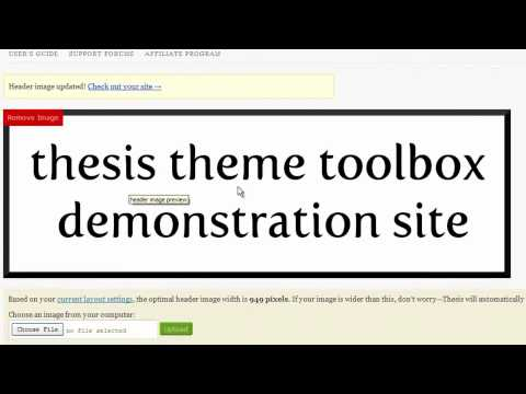 Thesis Theme 1.8 Preview — Demonstrating New Features