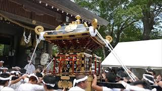安房神社1300年祭:洲宮神社犬石神社の神輿入祭 H30aw07 thumbnail