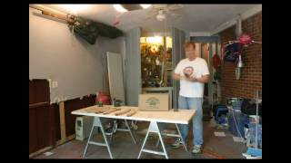 Time Lapse - Refinishing Chair Arms