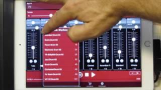 Midifileplayer mp3-player Turbosounds-app Anleitung Funktionsübersicht