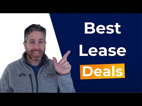 Best Lease Deals [February 2021]