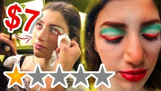 I WENT TO THE CHEAPEST WORST REVIEWED MAKEUP ARTIST IN MY CITY 😨