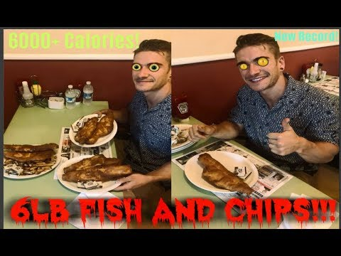 Canada's BIGGEST Fish And Chips Challenge!! Skips Fish N' Chips, Summerside PEI