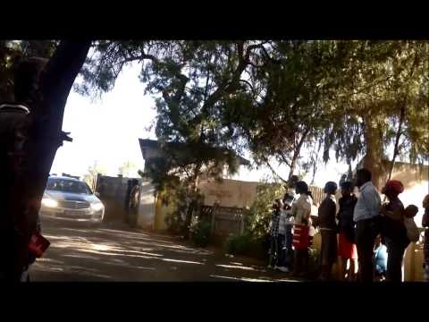 Robert Mugabe presidential motorcade