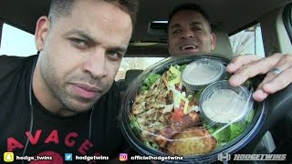 Eating Red Robin Avo-Cobb-O Salad @hodgetwins
