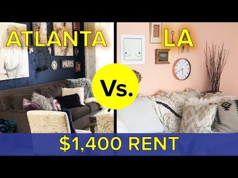 LA Vs. Atlanta: What Do You Get For $1,400?