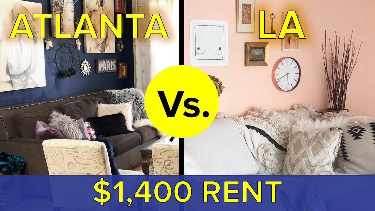 LA Vs. Atlanta: What Do You Get For $1,400?