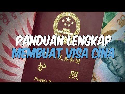 Cara Membuat Visa China Lengkap Dengan Tarifnya