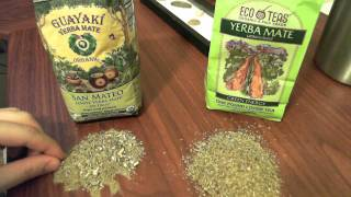 Yerba Mate Guayaki vs Eco Teas Best Tea Review and Comparison