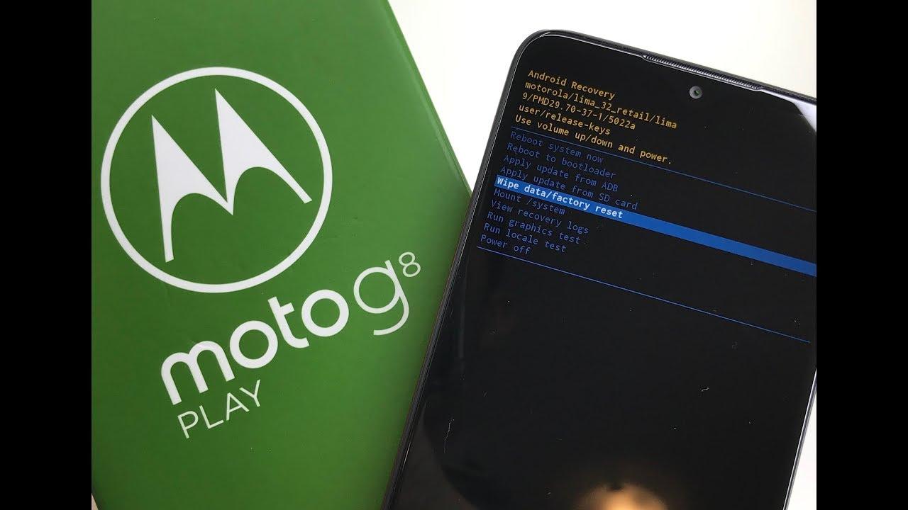 Hard Reset Moto G8 Play Plus 2019 Motorola Como Resetar Formatar Apagar Tutorial MyTub.uz