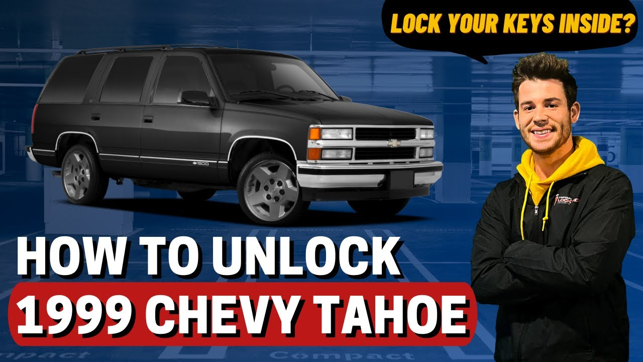 How To Unlock 1999 Chevy Tahoe Youtube
