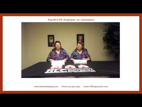 Twin Talk   Payroll in PA   Employee vs Sub Contractor