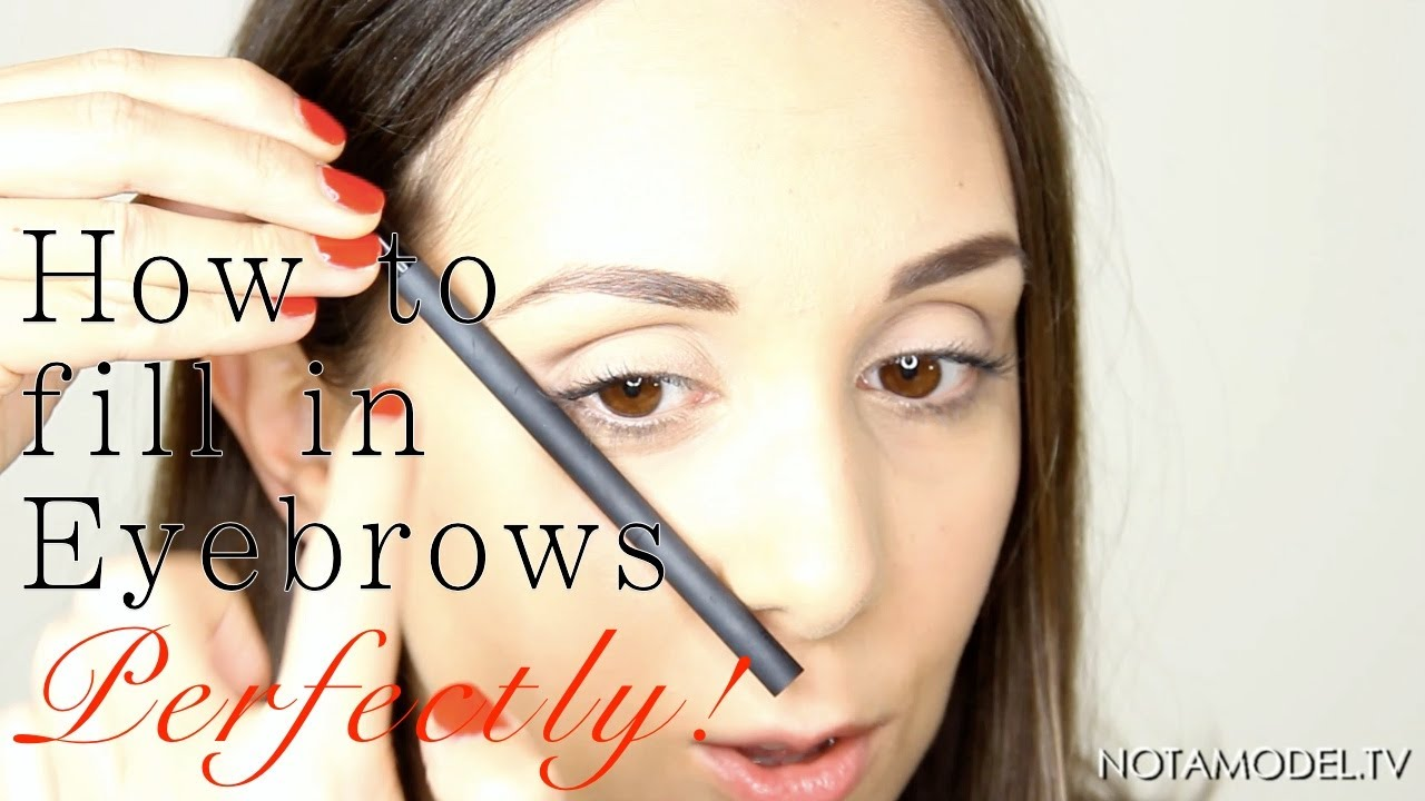 Eyebrow Makeup Tutorial How To Get Perfect Eyebrows Fast Youtube