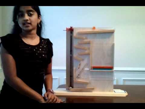 Gauri's Rube Goldberg Project (Simple Machines)
