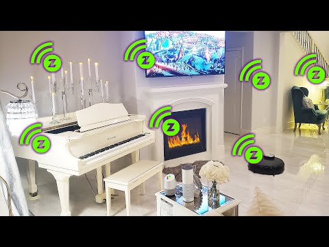 Ultimate Home Automation System With Google Home & Alexa. Smart Home Tour Setup Ideas Devices DIY 18