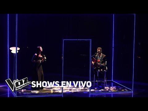 Axel y Amorina Alday cantan