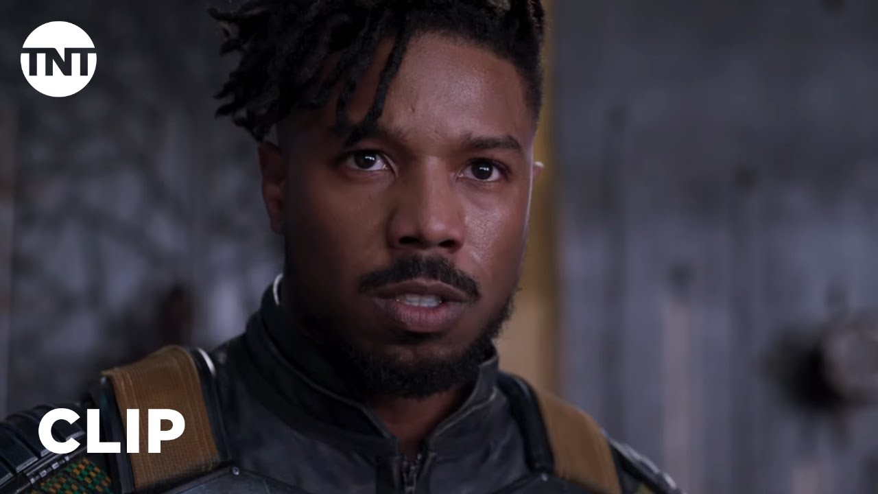 Download Black Panther: Killmonger Challenges T'Challa to Ritual Combat [CLIP] | TNT