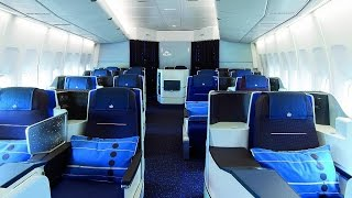 KLM NEW WORLD BUSINESS CLASS | NEW YORK-AMSTERDAM | B747