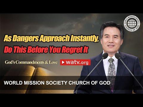God's Commandments & Love [World Mission Society Church of God Video Sermon]