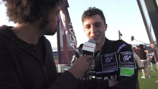 2016 GT Academy Winner, Johnny Guindi Hamui (Team MX) shares his thoughts - seconds after winning