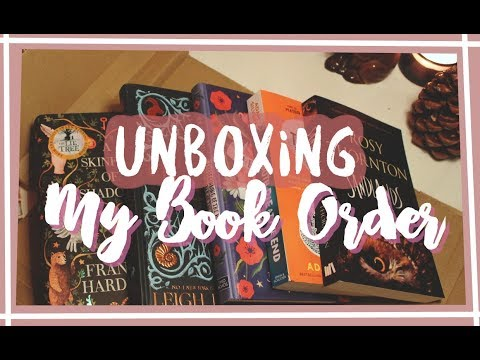Unboxing my book order from Amazon | Out of the Door