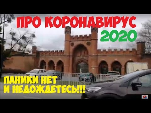 КАЛИНИНГРАД 2020 - ПРО КОРОНАВИРУС, ВЕСНА РАСЦВЕТАЕТ 18 часть