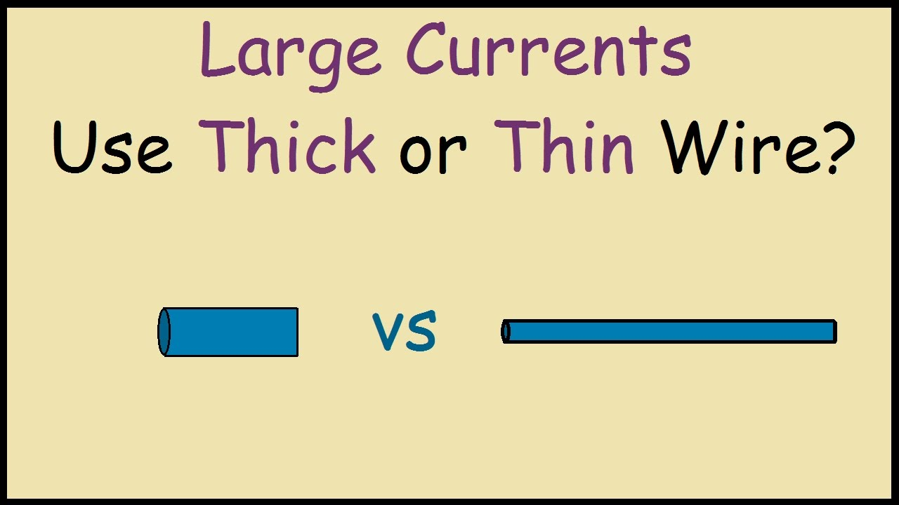 Current versus wire size wire center wire size vs current youtube rh youtube com current capacity vs wire size nec wire size greentooth Image collections