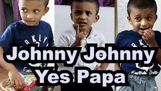 Johnny Johnny Yes Papa | Nursery Rhyme | Funny Skit | Angelo Ryan