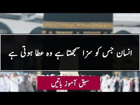 REMINDER* ALLAH'S PLAN - Urdu Quotes about Allah ki hikmat