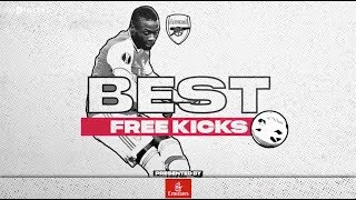 Ozil, Van Persie, Pepe, Henry And More | Arsenal's Best Free Kicks Compilation