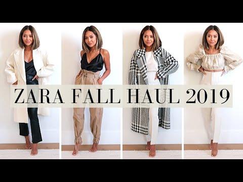 Zara Fall Try-On Haul 2019