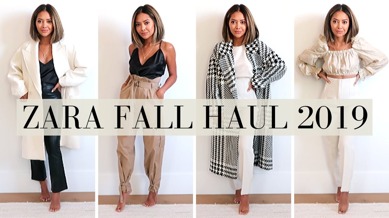 [VIDEO] - Zara Fall Try-On Haul 2019 9