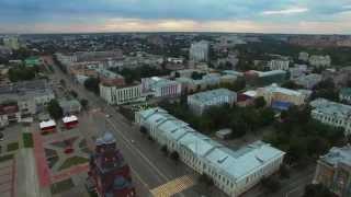 Владимир с высоты, Vladimir city 22.07.2015