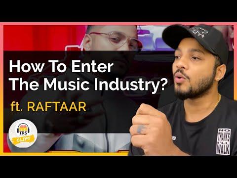 How To Enter The Music Industry In India? ft. @Raftaar   TheRanveerShow Clips