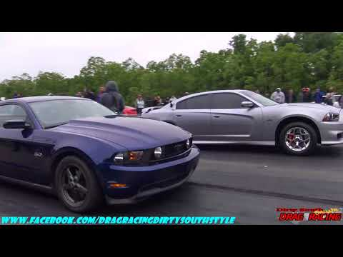 STREET RACE AT DA PAD EDWARD BROWN  vs PRO-CHARGED CHARGER