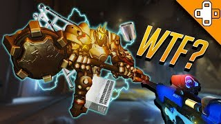 Magnetic Reinhardt? Overwatch Funny & Epic Moments 351